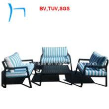 F- New Design Outdoor Furniture Garden Sofa Set (CF649A+CF649b+CF649CT)