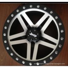 17X9 Fake Bead Lock Wheel Rims