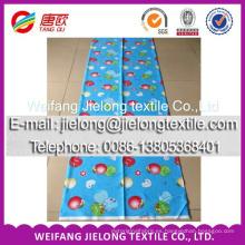 Tejido 100% de la impresión del algodón del proveedor de China para la sábana 100% tela de algodón para las sábanas tela de algodón impresa aduana