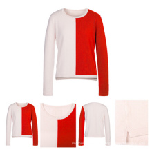 Bright Color Women Knitted Cashmere Sweater