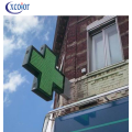 P8 Novo Design LED Cross Sign for Pharmacy