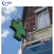 P8 New Design LED Cross Sign for Pharmacy