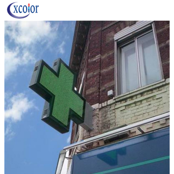 P8 New Design LED Cross Sign pour la pharmacie