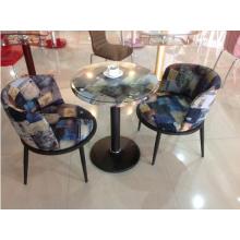 Современный журнальный стол и кресло