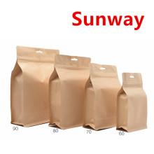 Small Kraft Paper Ziplock Bag