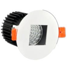 Forma redonda cuadrada central empotrada lámpara LED