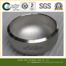ASTM S32750 Edelstahlkappen auf Rohr