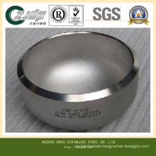 ASTM S32750 Stainless Steel Caps on Pipe