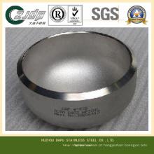 ASTM S32750 Tampas de aço inoxidável na tubulação