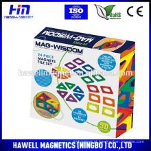 Brinquedos magnéticos MAG-WISDOM 2015 para crianças de 3+ anos