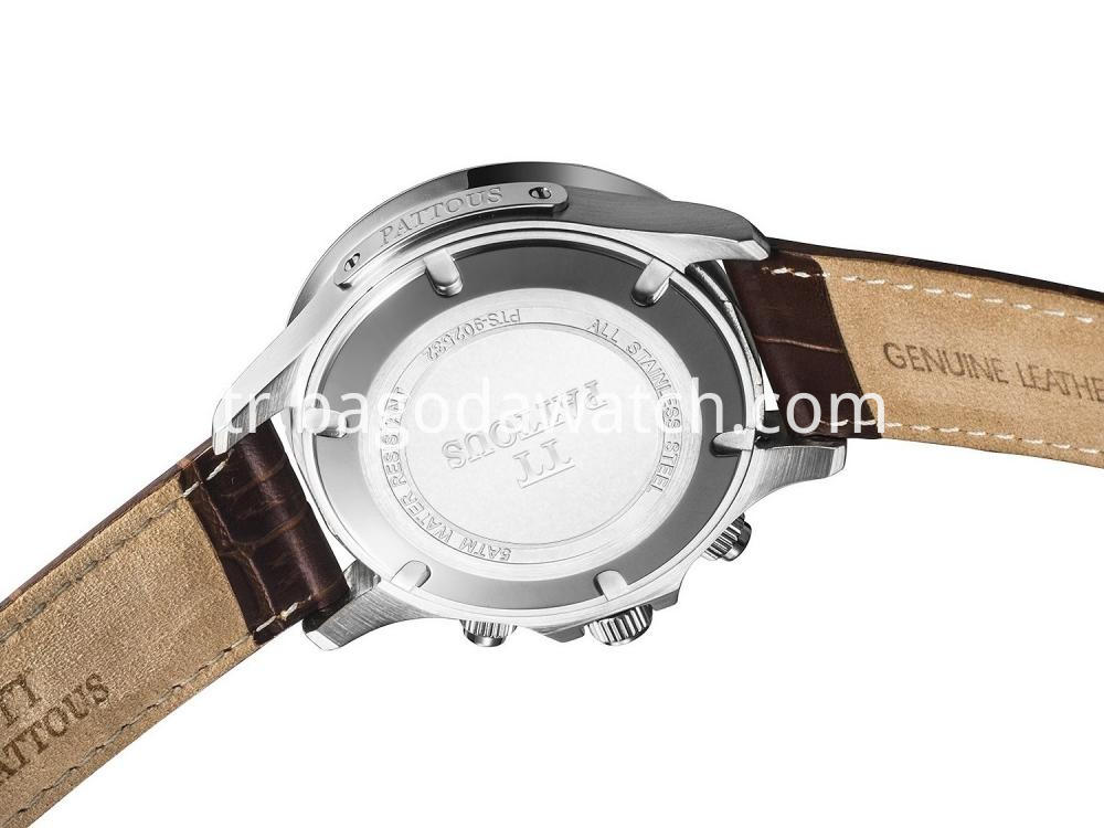 Quartz Stainless Steel Watch