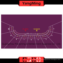 Baccarat Table Layout 10-P Purple (YMBL01P1)