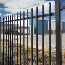 2500mm wrought iron fence