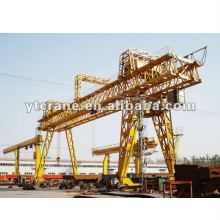 2014 Popular Heavy Duty Double Girder Gantry Crane(trussed type)