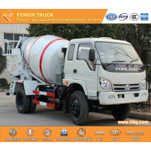 FOTON 4m3 concrete deliver truck cheap price