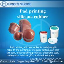 pad printing silicoe rubber