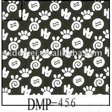 más de quinientos patrones tela llana de algodón