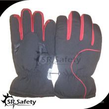SRSAFETY Economic black PU sports hand gloves