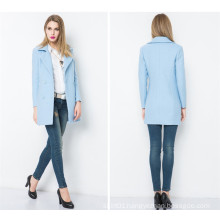 2016 New Style Ladies Long Coat Design Brand Name Coats