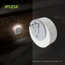 IPUDA A3 Mini LED luz de noche de color charing con linterna inteligente