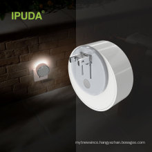 IPUDA A3 Mini LED color charing night light with smart flashlight