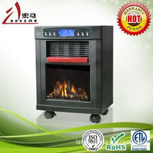Fireplace heater|wood black 3 in 1 ,Home Electric Heater with purifier