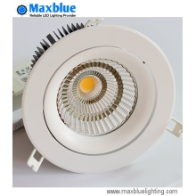 Dimmable CREE COB Empotrable techo Downlight LED