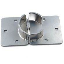 Nickle Plated 73mm Door Hasp