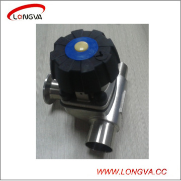 Sanitary Stainless Steel Three Way Diaphragm Valve