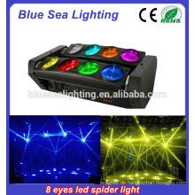 Gute Preis Disco RGBW 4-IN-1 führte Spinne Strahl bewegt Kopf Licht