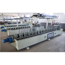 Carpintería MDF Línea perfil de envoltura chapa y máquina de melamina