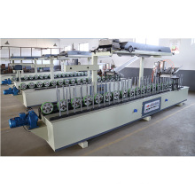 Woodworking MDF Line Profile Wrapping Veneer and Melamine Machine