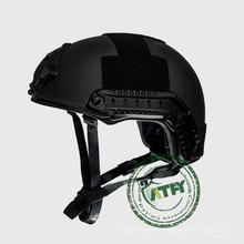 Mich Level NIJ IIIA Tactical Bullet Proof Helmet  Ballistic Military Combat Helmet with NVG Mount and Side Rail