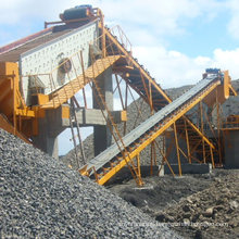 Vibrating Sand Screen Machine in Coal Handling Plant