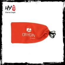 Novo design de sublimação saco de microfibra de fone de ouvido, bolsa de microfibra macio óculos de sol, óculos de sol de microfibra