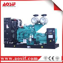 China grupo generador usado 550kw / 688kva 60Hz 1800 rpm generador