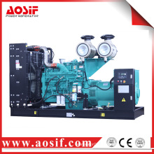 China used generator set 550kw / 688kva 60Hz 1800 rpm generator