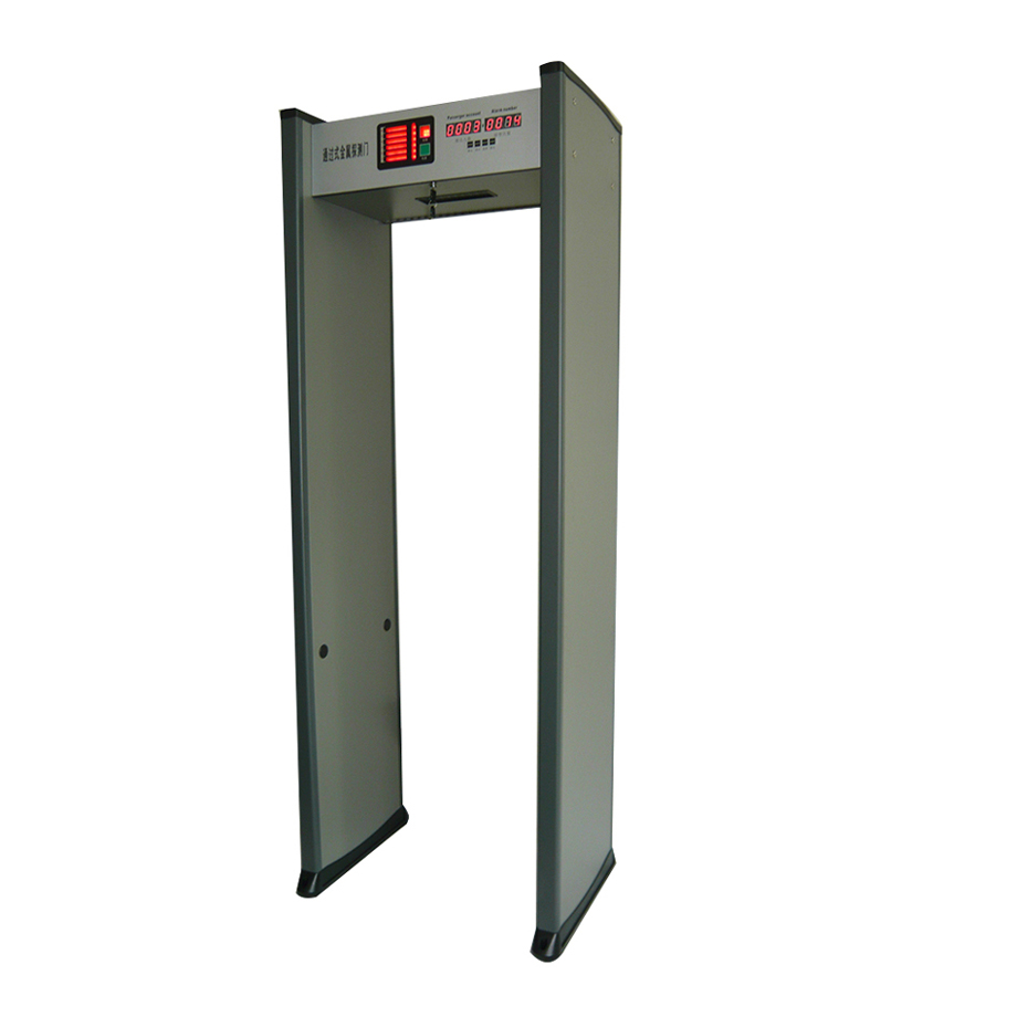 economical digital walk through metal detector