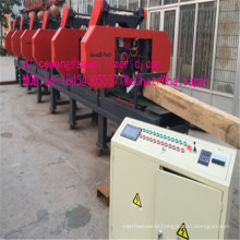 Multiple Heads Horizontal Band Sawmill  Used for Wood Cutting