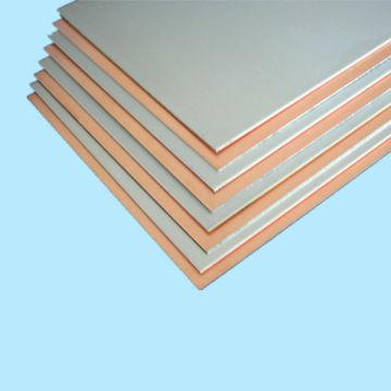 Aluminum base copper clad laminated sheets