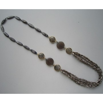 Collier Multi Stands Shell Beads