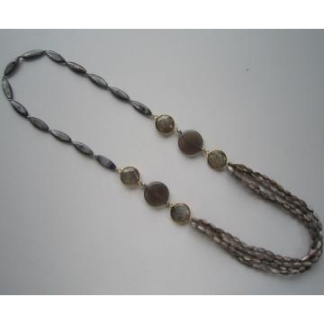 Multi стенды бисера ожерелье