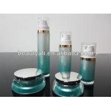 15g 30g plated el frasco poner crema cosmético de acrílico