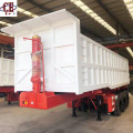 3 Axle 60Ton Hydraulic Dump Semi Trailer