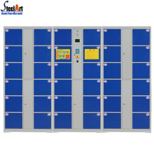 Modern design outdoor electronic intelligent card smart locker
