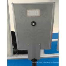 Lampadaire solaire intégré de 15w