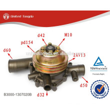 Original YUCHAI engine water pump B3000-1307020B