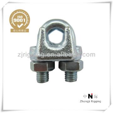Abrazadera de hardware galvanizado maleable Clip tipo A