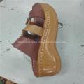 Sandalia y zapatos casuales Máquina de coser suela