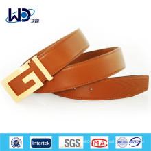 2014 Прочные коричневые кожаные ремни для мужчин